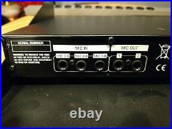 Vocopro DA2200 PRO Karaoke Mixer Voice Enhancer DA-2200. No manual/withrack drawer
