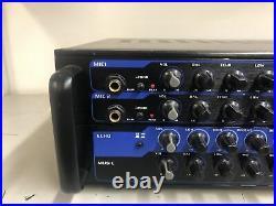 Vocopro DA3700BT 200w Digital Amp With Bluetooth. No remote. Used