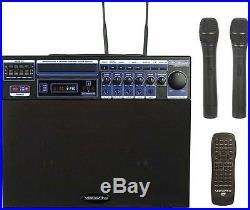 Vocopro Dvd-Soundman-1 80W Multi-Format 4 Channel Portable Sound System