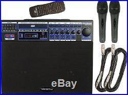 Vocopro Dvd-Soundman-Basic 80W Multi-Format 4 Channel Portable Sound System