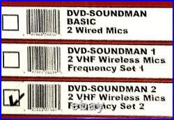 Vocopro Dvd-Soundman Multi Format 4 Channel Portable Sound System