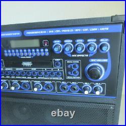 Vocopro Gig Star Multi-Format Karaoke 100W System Works Great