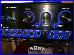 Vocopro KR-3808 300W Digital Karaoke Receiver Mixer w 2 microphones