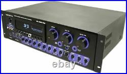 Vocopro KR-3808 PRO 300W Powered Karaoke Mixer/AMP Built in Adjustable Effects