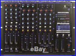 Vocopro Kjm-8000pro 6-channel Pro Kj/dj Mixer With Digital Key Control & Equalizer