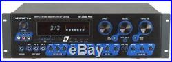 Vocopro Kr-3808 Pro A/v Receiver 2 Channel 300 W Pmpo 500 W Am, Fm