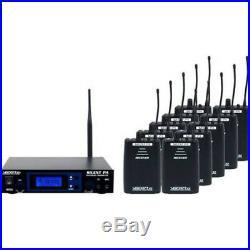Vocopro Silentpa-Seminar10 16Ch Uhf Wireless Audio Broadcast System