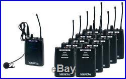 Vocopro Silentpa-Tour10 16Ch Uhf Wireless Audio Broadcast System