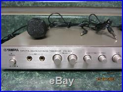 Yamaha Kpx-500 Karaoke MIX Sound Effects Processor 2 Microphones Included